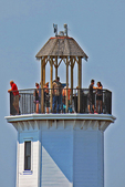 Fond du Lac Lighthouse and People, Fond du Lac, Wisconsin