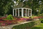 Gazebo at Boerner Botanical Gardens, Milwaukee, Wisconsin