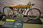 1923 Harley Bike, Harley-Davidson Museum, Milwaukee, Wisconsin