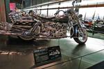 1958 Harley Bike, Harley-Davidson Museum, Milwaukee, Wisconsin