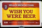 Miller Brewery Beer Sign, Miller Brewery, Milwaukee, Wisconsin