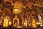 Interior of Basilica of St. Josaphat, Milwaukee, Wisconsin