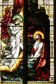 West Stained Glass Window, Basilica of St. Josaphat, Milwaukee, Wisconsin
