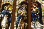 Stained Glass Window, Basilica of St. Josaphat, Milwaukee, Wisconsin