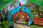 Chinese Zodiac Calendar Display, China Lights, Boerner Botanical Gardens, Milwaukee, Wisconsin