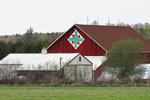 Cross Barn Quilt #184, Shawano County, Wisconsin