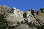 Mt. Rushmore Presidents Sculptures, Mt. Rushmore National Park, Black Hills, South Dakota