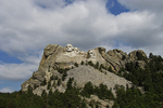 Mt. Rushmore in Distance, Mt. Rushmore National Park, Black Hills, South Dakota