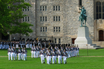 Cadets Marching to Graduation Parade on The Plain, West Point Military Academy, West Point, New York