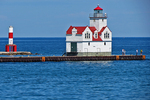 Kewaunee Lighthouse, Lake Michigan, Kewaunee, Wisconsin