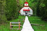 The Keepers Range Lighthouse, Ridges Sanctuary, Baileys Harbor, Door County, Wisconsin