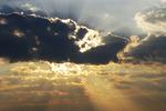 Sun Through Clouds, Dodgeville, Wisconsin
