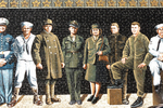 Veterans Mural Closeup, Downtown Ashland, Ashland, Wisconsin