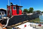 Tugboat in Harbor, La Pointe, Madeline Island, Lake Superior, Wisconsin