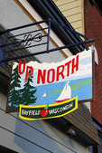 Up North Shop Sign, Bayfield, Wisconsin