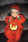 Austin as Pumpkin Man for Halloween, Appleton, Wisconsin