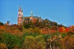 Holy Hill Basilica in Fall, Hubertus, Wisconsin