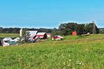 Amish Farm in Countryside, Cashton, Wisconsin