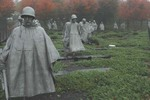 Korean War memorial soldiers (DMM19)
