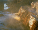 Grand Falls in spring flood, Little Colorado River, [ near Flagstaff, Arizona]. Navajo Indian Reservation, Arizona.