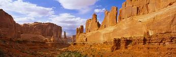 Park Avenue,  Arches National Park, Utah