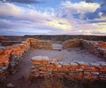 Ruins of the Puerco Pueblo [ca. AD 950-1300].  Anasazi culture.  Petrified Forest National Park, Arizona.