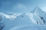 Peter Metcalf, 6th day, first alpine-style ascent of Reality Ridge, Mt. McKinley, Alaska