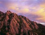 Dinosaur Mountain and the Flatirons from Bear Mountain, near Boulder, Colorado