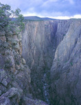 The Narrows from Exclamation Point, Black Canyon of the Gunnison National Park, near Montrose, Colorado