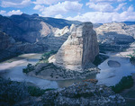 Steamboat Rock and Echo Park, Dinosaur National Monument, Colorado/Utah