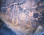 McKee Spring petroglyphs, Island Park Road, Dinosaur National Monument, Colorado/Utah