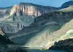 Park Service raft trip just below Bedrock Rapid, mile 130.5, Grand Canyon National Park, Arizona