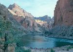 Camp at mile 44, President Harding Rapid, Marble Canyon, Arizona