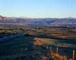 Boulder, The Flatirons, Mt. Audubon, Longs Peak and U.S. 36, Colorado