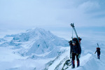 Bill Miller and Larry Palubicki, 17,100 feet, West Buttress, Mt. McKinley, Denali National Park, Alaska