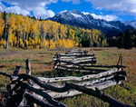 Mt. Sneffels from East Fork of Dallas Creek, Uncompahgre National Forest, CO