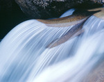 Waterfall near the Grottos, Roaring Fork River, White River National Forest, Colorado
