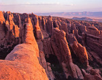 Fins in the Devils Garden area at sunrise, Arches National Park, Utah