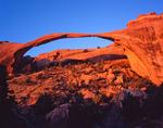 Landscape Arch, Devils Garden area, Arches National Park, Utah