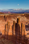 Monument Basin along the White Rim, Island in the Sky District, Canyonlands National Park, Utah