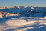 Castle Peak from 13,155-foot Baldy Mountain, Maroon Bells-Snowmass Wilderness, Colorado