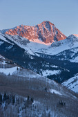 Capitol Peak and the Capitol Creek valley, Maroon Bells-Snowmass Wilderness, Colorado
