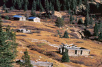 Independence ghost town, along the Independence Pass road east of Aspen, Colorado
