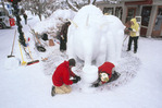 Team Talon working on Rhinowaspaphant Elewasperus, Aspen, Colorado, January, 2008