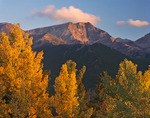 Mt. Ypsilon in autumn from Trail Ridge Road, Rocky Mountain National Park, Colorado
