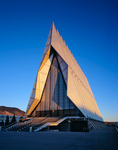 The Air Force Academy Cadet Chapel, Colorado Springs, Colorado