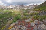 Vermilion Peak, Golden Horn and Pilot Knob, Ice Lakes Basin, near Silverton, Colorado