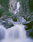 Fish Creek Falls, near Steamboat Springs, Colorado