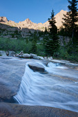 Cascade in Chicago Basin and Jupiter Peak, Weminuche Wilderness, Colorado