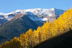 Treasure Mountain from Lead King Basin in late September, White River National Forest, Colorado